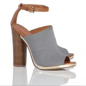 Rebecca minkoff ragini grey jersey color heels